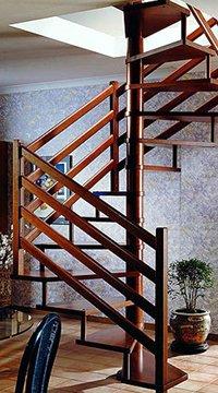 Деревянных винтовые лестницы