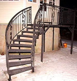 Винтовые лестницы, продажа