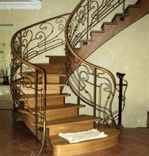 Заказать винтовую лестницу