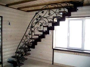 Ковка винтовых лестниц